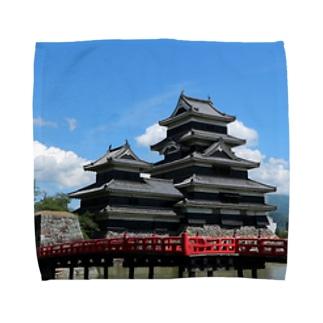松本城 Towel handkerchiefs