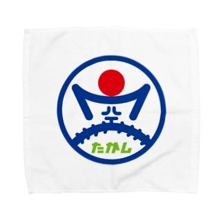 パ紋No.3276 空たかし Towel handkerchiefs