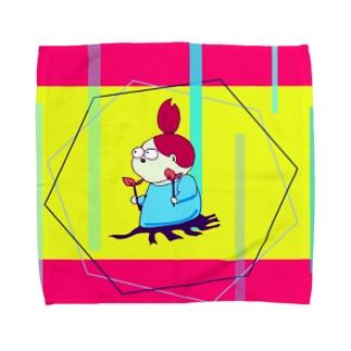 考える葦(あし) Towel handkerchiefs