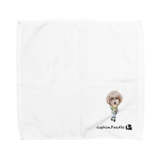 ソフィア.プードル Towel handkerchiefs
