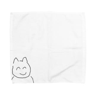 しにかる君 Towel handkerchiefs