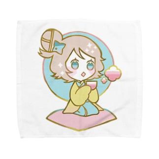 ちどりB Towel handkerchiefs