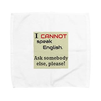 英語話せません! Towel handkerchiefs