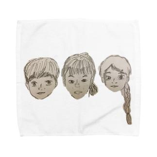 さんこいち Towel handkerchiefs