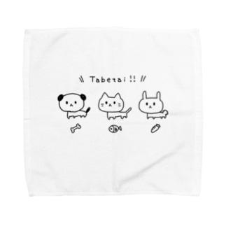 Tabetaiあにまる Towel handkerchiefs