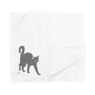 おこねこ Towel handkerchiefs