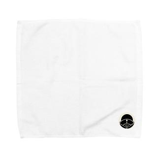 黒月家紋 Towel handkerchiefs