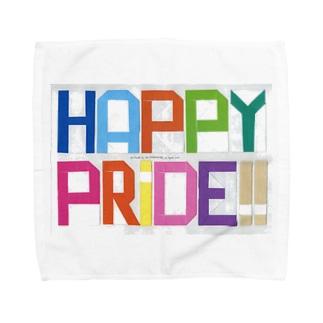 HAPPY PRIDE!! (2013 ver.) Towel handkerchiefs