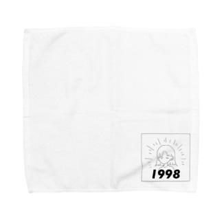 1998GIRL Towel handkerchiefs