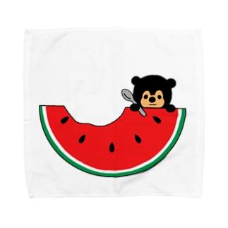すいかマレー Towel handkerchiefs