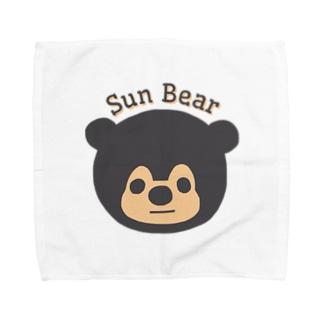 マレーグマのマズくん Towel handkerchiefs