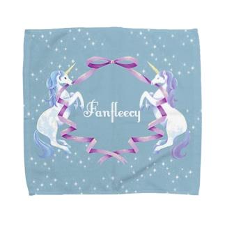 unicorn(blue) Towel handkerchiefs