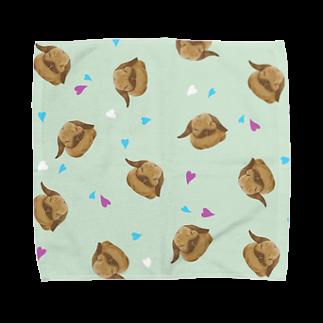 Fanfleecyのホーランドロップ(トート) Towel handkerchiefs