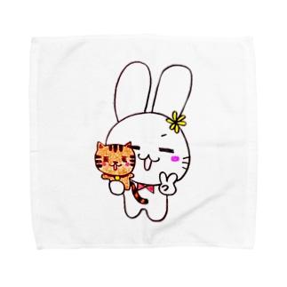 Best friends☆ SENWARA USA SUPER ver. タオルハンカチ