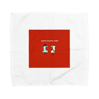 Deatte shimatta futari Towel handkerchiefs
