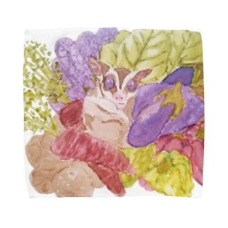 フクロモモンガVer.8 Towel handkerchiefs