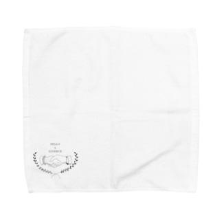 HELLO & GOODBYE Towel handkerchiefs