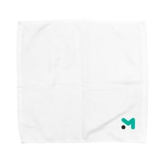 ムームードメインのMマーク タオルハンカチ Towel handkerchiefs
