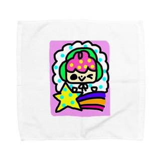 ソラソラと流れ星 Towel handkerchiefs