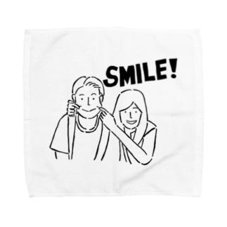smile1 タオルハンカチ