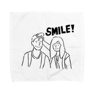 smile2 タオルハンカチ