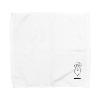 垂直跳びの羊 Towel handkerchiefs