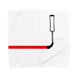 塗っちゃうよー Towel handkerchiefs