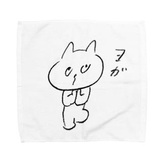 ヨガねこ Towel handkerchiefs