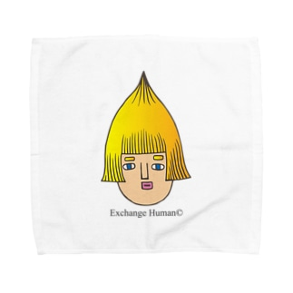 とんがりコビート Towel handkerchiefs