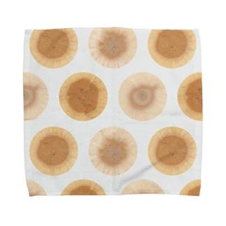 地図の年輪「水玉模様」 Towel handkerchiefs