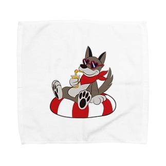 真夏のクッキーシリーズ Towel handkerchiefs