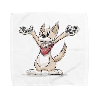 ドローイング・クッキー Towel handkerchiefs