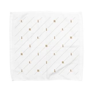 モノグラム(ロゴ) Towel handkerchiefs