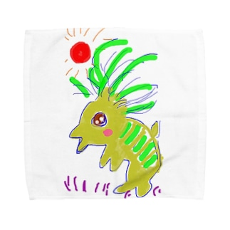 がおがおさん Towel handkerchiefs