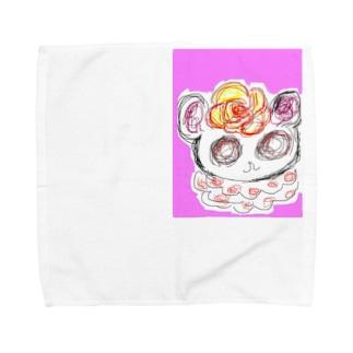 くるくるちゃん Towel handkerchiefs