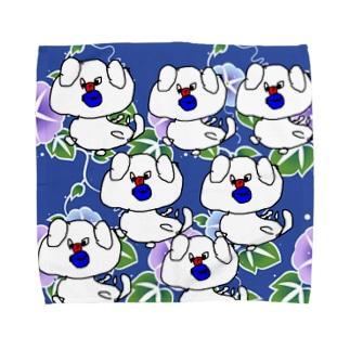 シマブクロ☆ショップのレモン Towel handkerchiefs