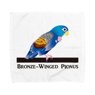 ドウバネインコ Towel handkerchiefs