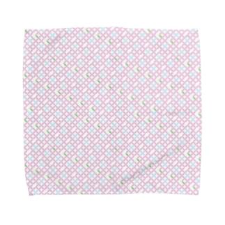 ぱすてる七宝 Towel handkerchiefs