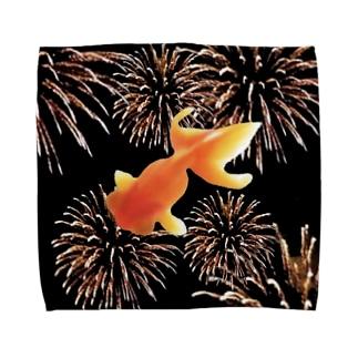 金魚花火 Towel handkerchiefs