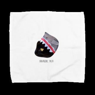 HakubeiのシッポのSHARK🐱 Towel handkerchiefs