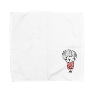 よろしくお願いします Towel handkerchiefs
