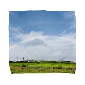 matsunomiの8月21日の朝 Towel handkerchiefs