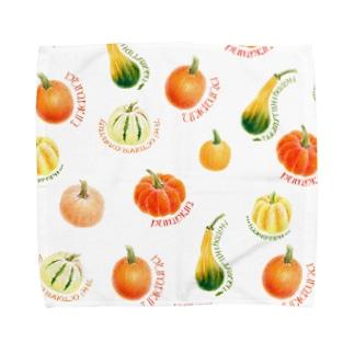 かぼちゃのハンカチ Towel handkerchiefs