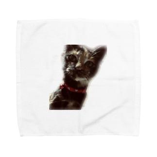 まぐちゃん Towel handkerchiefs