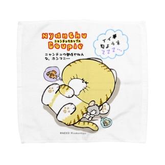 Nyanchu Couple (ニャンチュウカップル) Towel handkerchiefs