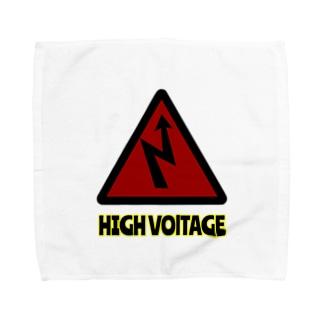 HIGH VOLTAGE Towel handkerchiefs
