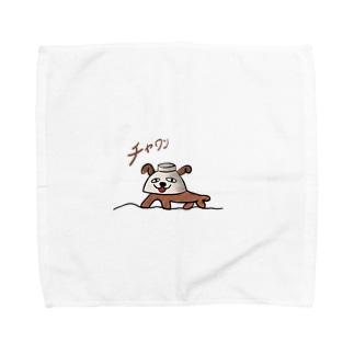 チャワン Towel handkerchiefs