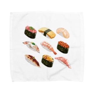 お寿司 タオルハンカチ
