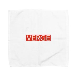 赤バージョン Towel handkerchiefs