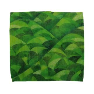 青海波 Towel handkerchiefs